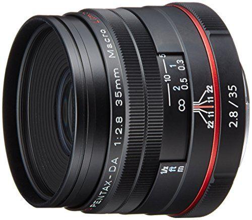 リコー HD DA35F2.8MACRO Limited ブラック(HD DA35F2.8MACRO BK) 取り寄せ商品