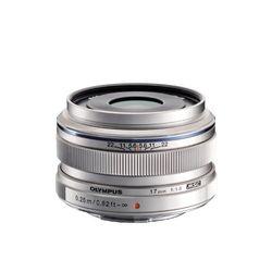 オリンパス 交換レンズ 34mm相当 M.ZUIKO DIGITAL 17mm F1.8 シルバー(17MMF1.8SLV) 取り寄せ商品
