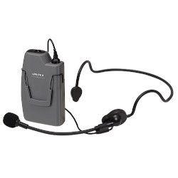 ユニペックス ワイヤレスマイク 300MHz ヘッドセットタイプ ストーンシルバー調(WM-3130) 取り寄せ商品