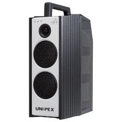 ユニペックス 防滴型ハイパワーワイヤレスアンプ 300MHz帯 ダイバシティ CD/SD付(WA-372SU) 取り寄せ商品