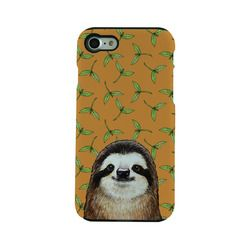 FANTASTICK TOUGH CASE Sloth & Sprout for iPhone 7 I7N06-16C787-03 取り寄せ商品