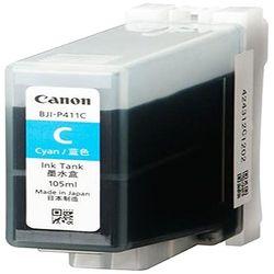 純正品 Canon キャノン BJI-P411C インクタンク シアン (4845B001) 目安在庫=○