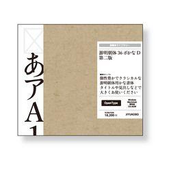 ソースネクスト 游明朝体36ポかな D 第二版(対応OS:WIN&MAC)(YUMIN36D2) 取り寄せ商品