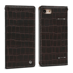 FANTASTICK Wetherby・Premium Croco (Dark Brown) for iPhone 7(I7N06-16B767-19) 取り寄せ商品