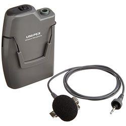 ユニペックス ワイヤレスマイク 300MHz ツーピースタイプ ストーンシルバー調(WM-3100) 取り寄せ商品