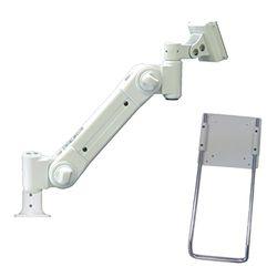 ライブクリエータ スタンダードアーム 中荷重用 フランジ付グロメット固定式取っ手あり(ARM2-21G2R) 取り寄せ商品