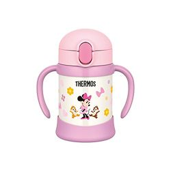 THERMOS(サーモス) まほうびんのベビーストローマグ 250ml Disney baby ライトピンク(FHV-250DS-LP) 取り寄せ商品