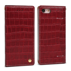 FANTASTICK Wetherby・Premium Croco (Red) for iPhone 7 I7N06-16B767-06 取り寄せ商品