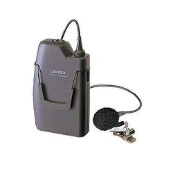 ユニペックス ワイヤレスマイク 800MHz ツーピースタイプ ストーンシルバー調(WM-8100A) 取り寄せ商品