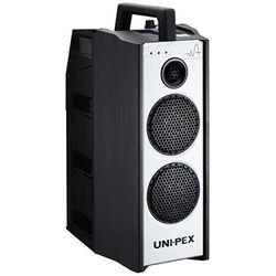 ユニペックス 防滴型ハイパワーワイヤレスアンプ 300MHz帯 シングル CD付 WA-371CD 取り寄せ商品