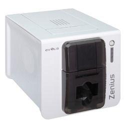 Evolis カードプリンタ Zenius(グレーブラウン) ZN1UTS 取り寄せ商品