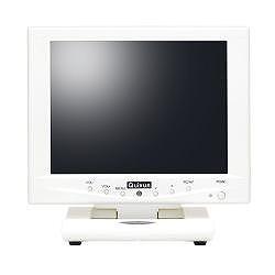 クイックサンプロダクツ 8.0型SVGA液晶カラーディスプレイ タッチパネル パールホワイト(QT-802P-AV-TP) 取り寄せ商品