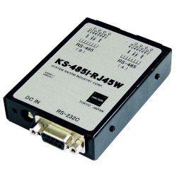 システムサコム工業 RS232C←→RS485変換ユニット 絶縁タイプ(ACアダプタ仕様)(KS-485I-RJ45W) 取り寄せ商品