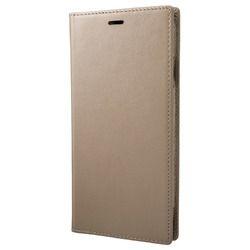 坂本ラヂヲ Italian Genuine Leather Book Case for iPhone XS Max Taupe(GLC-72418TPE) 取り寄せ商品