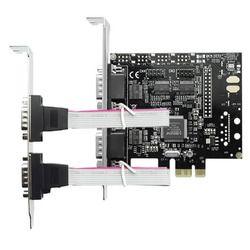 エアリア RS232C x4 ポート増設 PCI Express x1 拡張ボード 組込 Windows10(SD-PE9901CV-4S2) 取り寄せ商品