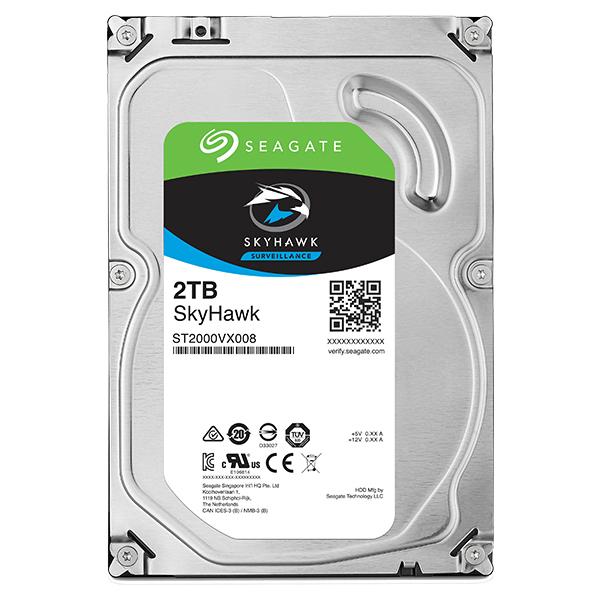 Seagate Guardian SkyHawkシリーズ 3.5インチ内蔵HDD 2TB SATA6.0Gb/s 5900rpm 64MB(ST2000VX008) 目安在庫=△