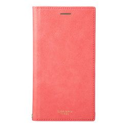 坂本ラヂヲ Colo PU Leather Book Case for iPhone XR Pink(FLC-62538PNK) 取り寄せ商品