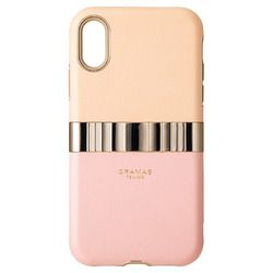 坂本ラヂヲ Rel Hybrid Shell Case for iPhone XR Pink(FHC-52518PNK) 取り寄せ商品