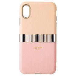 坂本ラヂヲ Rel Hybrid Shell Case for iPhone XS Max/X Pink(FHC-52418PNK) 取り寄せ商品