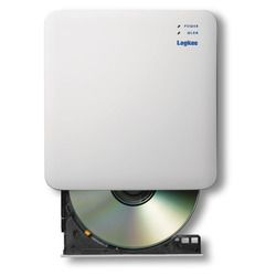 【P10E】ロジテック(エレコム) WiFi対応CD録音ドライブ/2.4GHz/iOS_Android対応/USB3.0/ホワイト(LDR-PS24GWU3RWH) メーカー在庫品