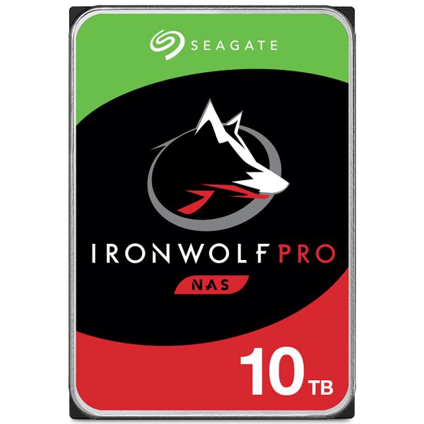 Seagate Guardian IronWolf Proシリーズ 3.5インチ内蔵HDD 10TB SATA 6.0Gb/s 7200rpm 256MB(ST10000NE0008) 取り寄せ商品