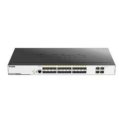 ディーリンクジャパン DGS-3000-28XS L2+マネージドスイッチ、SFPスロット×24(DGS-3000-28XS/B1) 取り寄せ商品