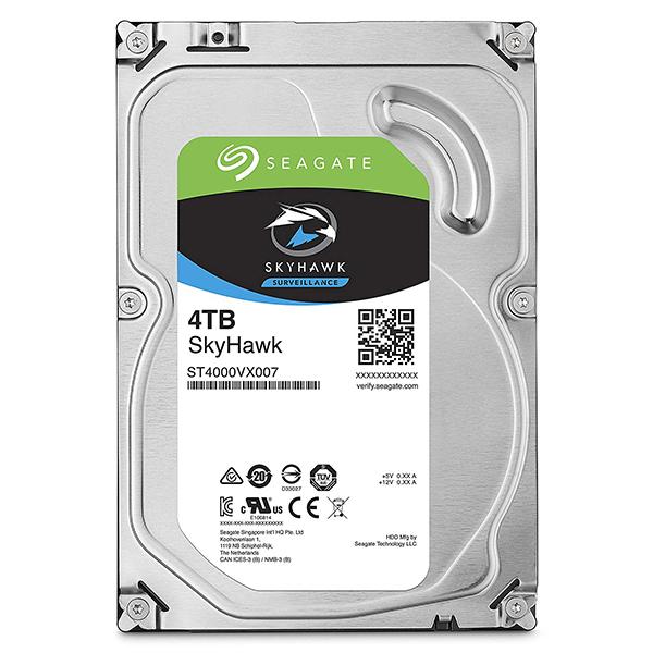 Seagate Guardian SkyHawkシリーズ 3.5インチ内蔵HDD 4TB SATA6.0Gb/s 5900rpm 64MB(ST4000VX007) 取り寄せ商品