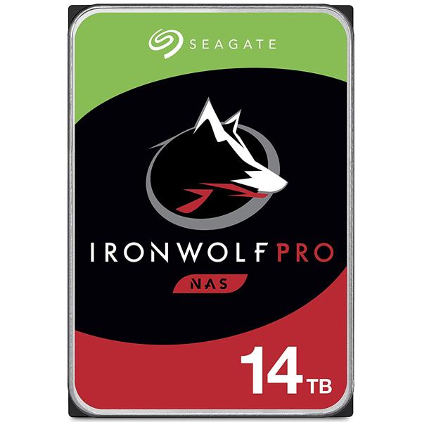 Seagate Guardian IronWolf Proシリーズ 3.5インチ内蔵HDD 14TB SATA6.0Gb/s 7200rpm 256MB(ST14000NE0008) 取り寄せ商品
