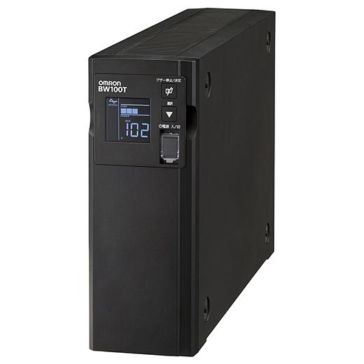オムロン ソーシアルソリューションズ 無停電電源装置(常時商用給電/正弦波出力) 1000VA/610W BW100T 取り寄せ商品