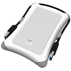 Silicon Power Armor A30 USB3.0/2.0対応ポータブルHDD 2TB ホワイト(SP020TBPHDA30S3W) 取り寄せ商品
