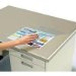 コクヨ マ-867NM デスクマット 軟質再生オレフィン・透明 W下敷付 1587×687 取り寄せ商品