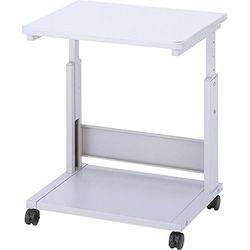 ナカバヤシ PTL-301N レーザープリンターテーブル/Hカヘンタイプ/グレー 取り寄せ商品