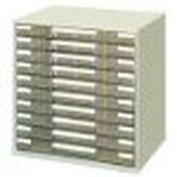 コクヨ LC-YAG10M レターケース 透明プラスチック引出しタイプA3ヨコ 10段 取り寄せ商品