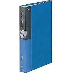 コクヨ ハセ-230NB ポストカードホルダー(固定式) A4-S 収容枚数200枚 青 取り寄せ商品