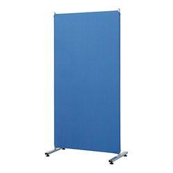 ナカバヤシ PTS-1680B 簡易パーティション1600×800 ブルー 取り寄せ商品