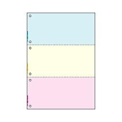 ヒサゴ FSC2013W マルチプリンタ帳票FSC A4 カラー 3面 6穴 取り寄せ商品