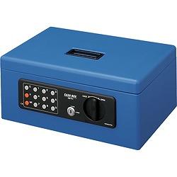 コクヨ【マイナンバー対策】CB-T11B 手提げ金庫(テンキー付き) A4 青(CB-T11B) 取り寄せ商品