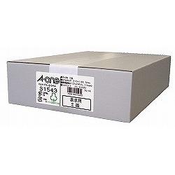 エーワン 31543 マルチプリンタラベル 2面〈表示用〉 取り寄せ商品
