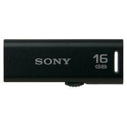 索尼USB存儲器USM-R系列口袋比特16GB黑色USM16GR B大致目標庫存=△