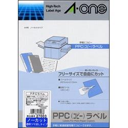 エーワン 27003 PPC透明フィルムタック 取り寄せ商品