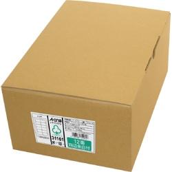 エーワン 31161 レーザープリンタラベル 紙ラベル A4判 12面 四辺余白付 取り寄せ商品