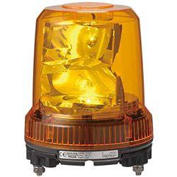 パトライト 強耐振大型パワーLED回転灯 黄 RLR-M2-P-Y 取り寄せ商品