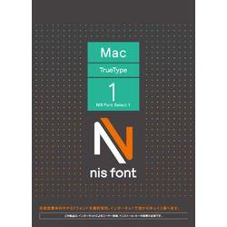 カード決済可能 SHOP OF THE YEAR 2019 パソコン 周辺機器 プレゼント Select 正規品 取り寄せ商品 ニイス Macintosh版TrueType 1 ジャンル賞受賞しました Font NIS
