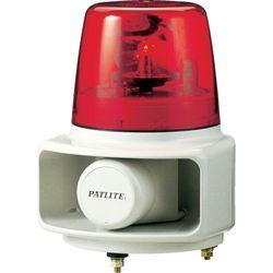 パトライト ホーンスピーカ一体型マルチ電子音回転灯 赤 RT-24A-R 取り寄せ商品