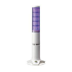 パトライト 積層情報表示灯 据置きタイプ・クリアスイッチ付 LA6-5DSNWB-POE 取り寄せ商品