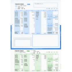 ソリマチ SR232 給与・賞与明細書(封筒型・シール付き)200枚入(対応OS:その他) メーカー在庫品