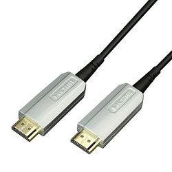 ラトックシステム HDMI光ファイバーケーブル 4K60Hz対応 (20m) RCL-HDAOC4K60-020 取り寄せ商品