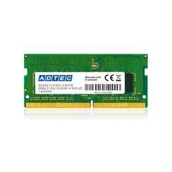 カード決済可能 SHOP OF THE 輸入 YEAR 2019 パソコン 最新号掲載アイテム 周辺機器 ジャンル賞受賞しました 260pin ADS2133N-E16G 16GB ECC DDR4-2133 取り寄せ商品 アドテック SO-DIMM