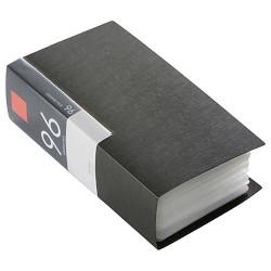 カード決済可能 SHOP 市販 OF THE YEAR 2019 パソコン 周辺機器 ジャンル賞受賞しました 96枚収納 特別セール品 取り寄せ商品 BSCD01F96BK ブックタイプ CD ブラック DVDファイルケース バッファロー