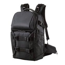 【P5E】エレコム GRAPH GEAR NEO/プロカメラバッグ/バックパック/ブラック DGB-P01BK(DGB-P01BK) メーカー在庫品
